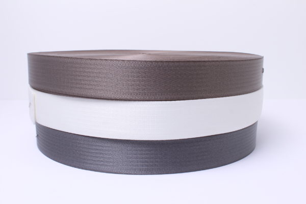 Wind strap webbing in three colors