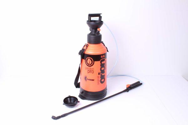 Orion series garden sprayer with hose