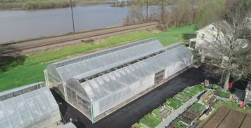 Greenhouses with Roof Vent