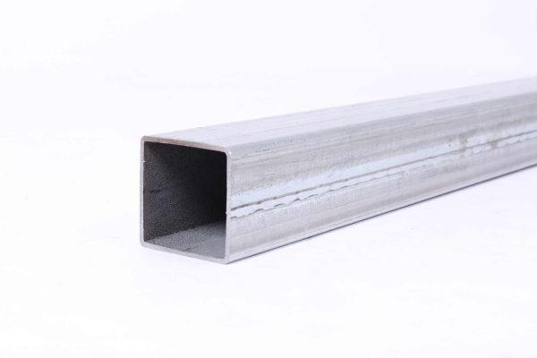 "2"" greenhouse galvanized square tubing - unswaged"