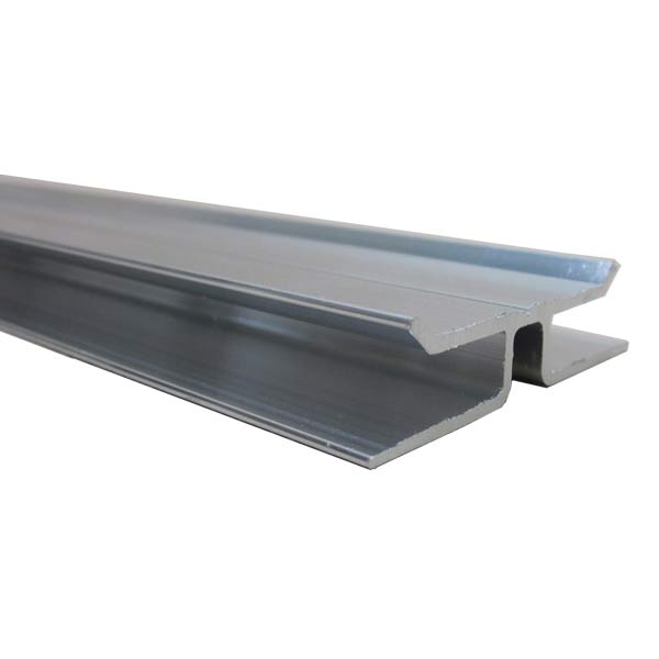 6 Foot Aluminum H Channel for Polycarbonate